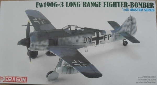 5537 FOCKE-WULF Fw 190G-3 LONG RANGE FIGHTER BOMBER