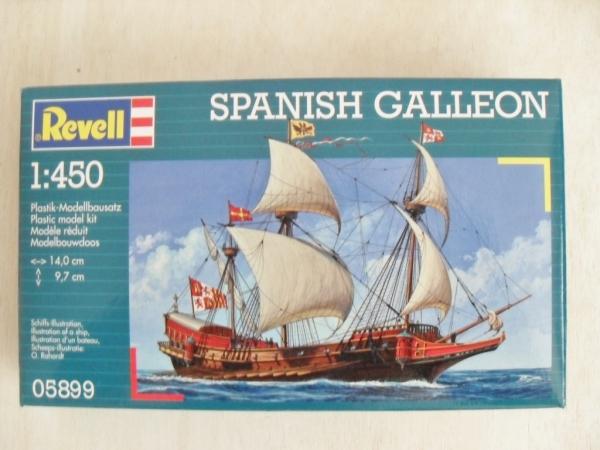 Modellen Modelbouw, accessoires Revell 05899 Spanish Galleon Model Kit