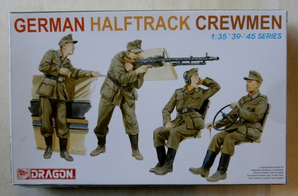 6193 GERMAN HALF TRACK CREWMEN