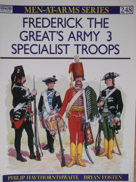 248. FREDERICK THE GREATS ARMY 3 - SPECIALIST TROOPS