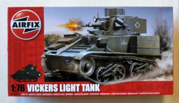02330 VICKERS LIGHT TANK Mk.VI A/B/C