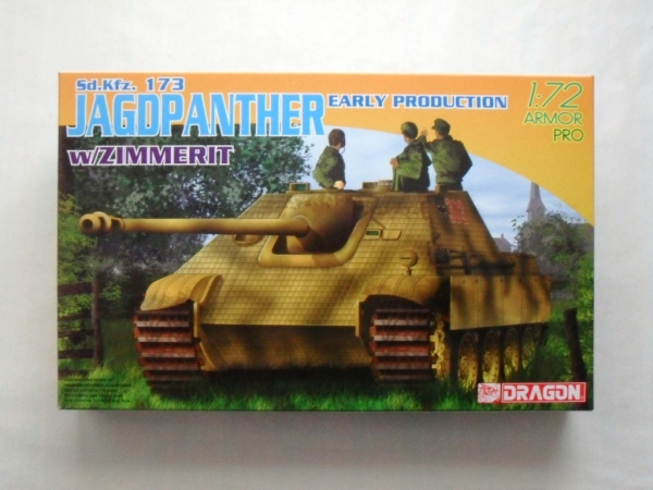 7241 JAGDPANTHER EARLY PRODUCTION WITH ZIMMERIT