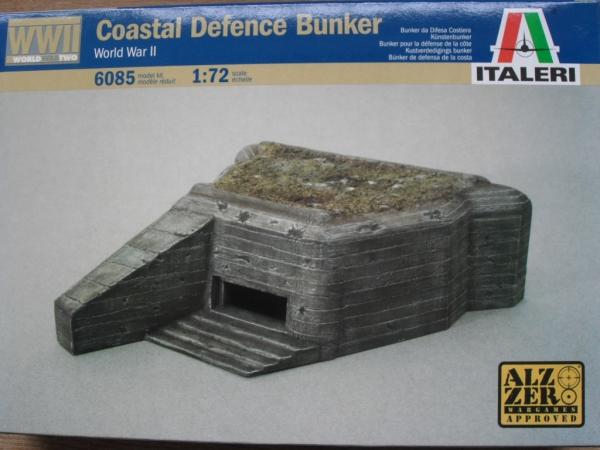ITALERI 1/72 6085 COASTAL DEFENCE BUNKER Military