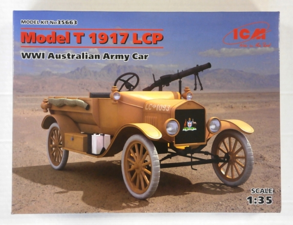 35663 MODEL T 1917 LCP WWI AUSTRALIAN ARMY CAR