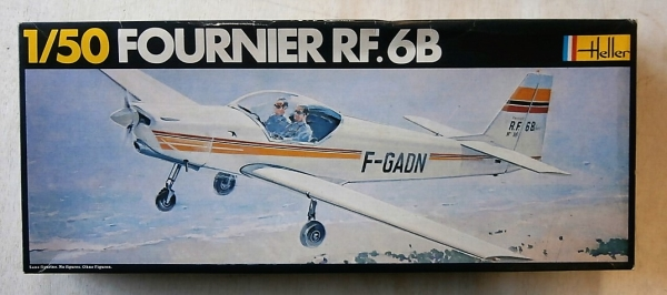 HELLER 1/50 402 FOURNIER RF.6B Model Kit