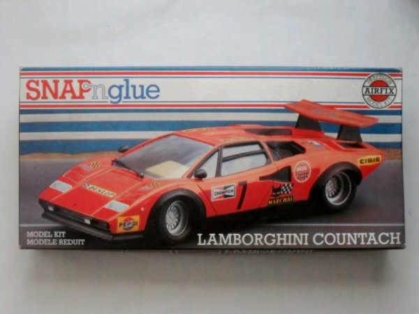 06412 LAMBORGHINI COUNTACH LP500S SNAP N GLUE