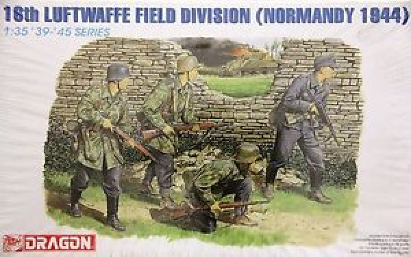 6084 16th LUFTWAFFE FIELD DIVISION NORMANDY 1944