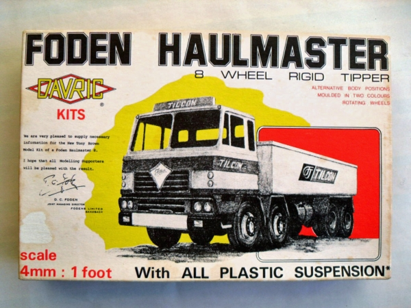 702 FODEN HAULMASTER 8 WHEEL RIGID TIPPER