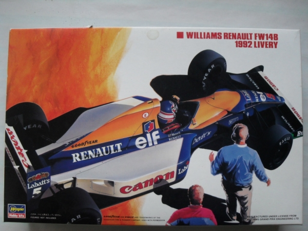 FS9 WILLIAMS RENAULT FW14B 1992 LIVERY