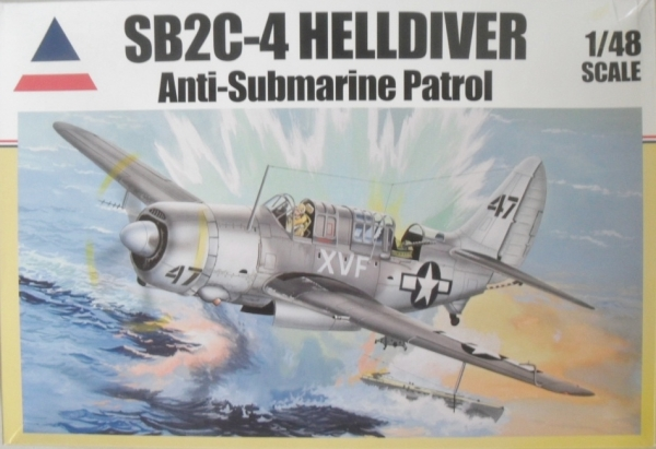 ACCURATE MINIATURES 1/48 480406 SB2C-4 HELLDIVER