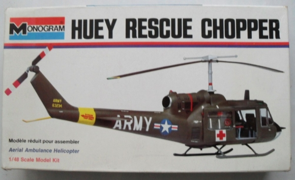 6810 HUEY RESCUE CHOPPER