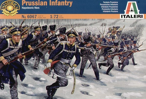 6067 NAPOLEONIC PRUSSIAN INFANTRY
