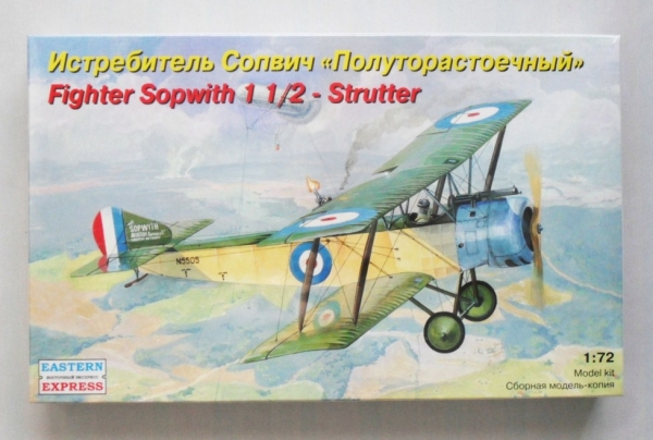 72160 SOPWITH 1   1/2 STRUTTER WWI NIGHT FIGHTER