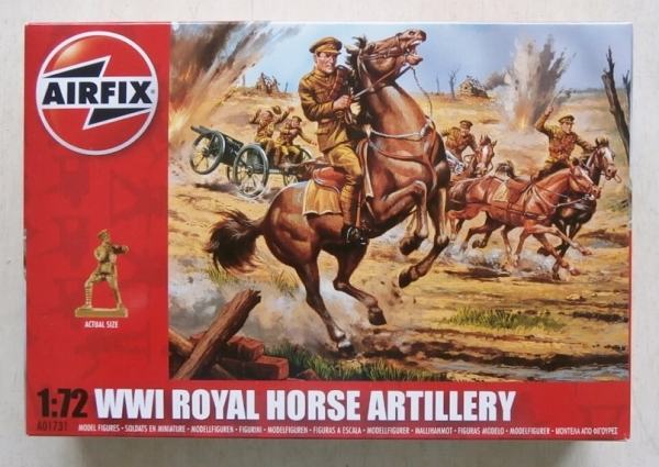 01731 WWI ROYAL HORSE ARTILLERY