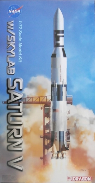 11021 SATURN V w/SKYLAB  UK SALE ONLY