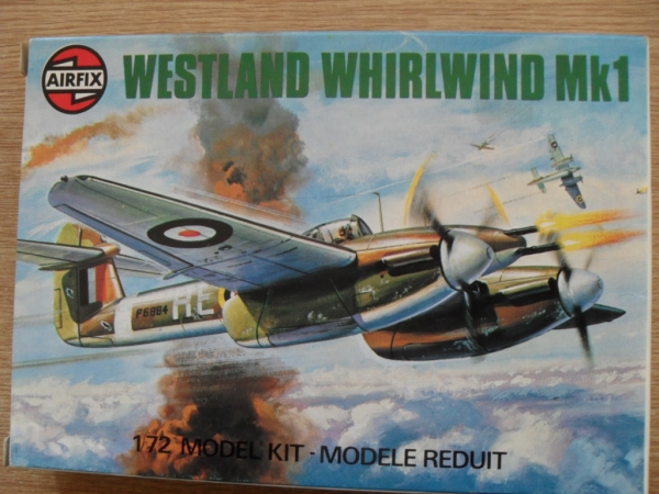 61019 WESTLAND WHIRLWIND FIGHTER Mk.I  OLD TOOL