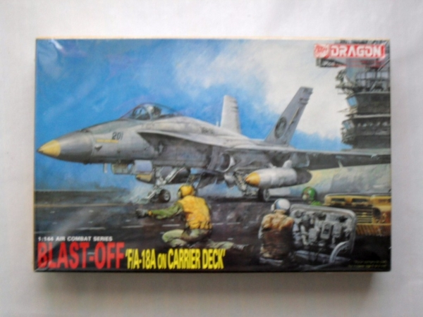 4003 F/A-18A WITH CARRIER DECK BLAST OFF