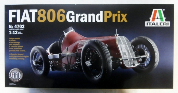 4702 FIAT 806 GRAND PRIX  UK SALE ONLY