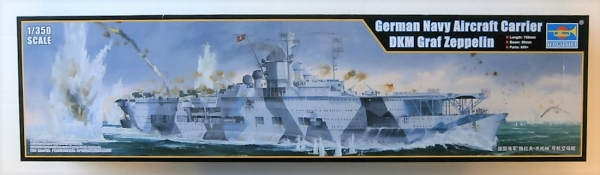 05627 GERMAN NAVY AIRCRAFT CARRIER DKM GRAF ZEPPELIN  UK SALE ONLY