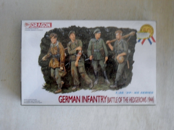 6025 GERMAN INFANTRY BATTLE OF THE HEDGEROWS 1944