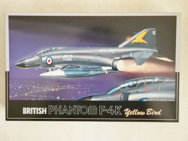 H-8 BRITISH PHANTOM F-4K YELLOW BIRD