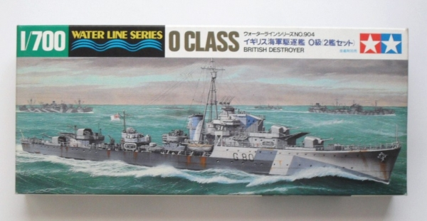 31904 O CLASS BRITISH DESTROYER