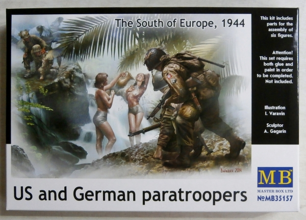 35157 US   GERMAN PARATROOPERS THE SOUTH OF EUROPE 1944