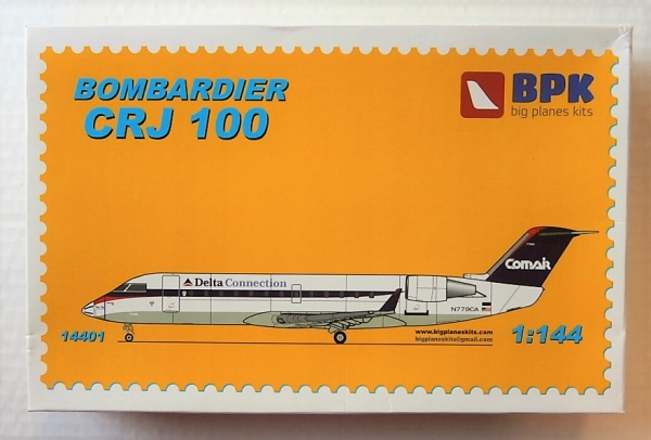 14401 BOMBARDIER CRJ 100 DELTA CONNECTION