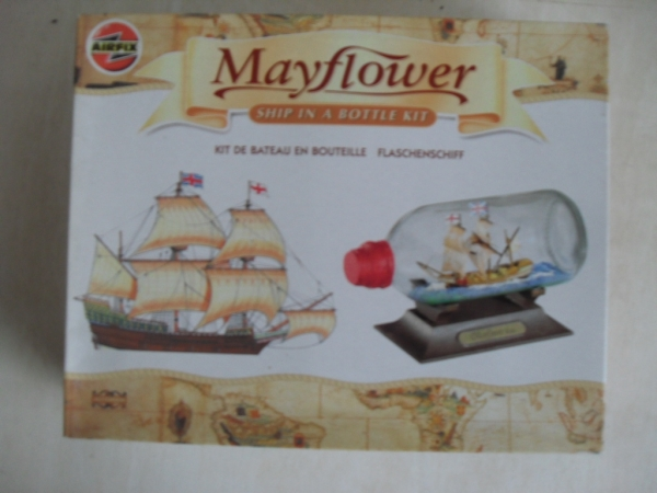 60001 MAYFLOWER SHIP IN A BOTTLE