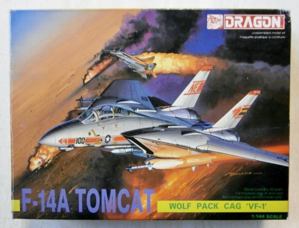 4552 F-14A TOMCAT WOLFPACK CAG VF-1