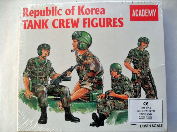1369 REPUBLIC OF KOREA TANK CREW