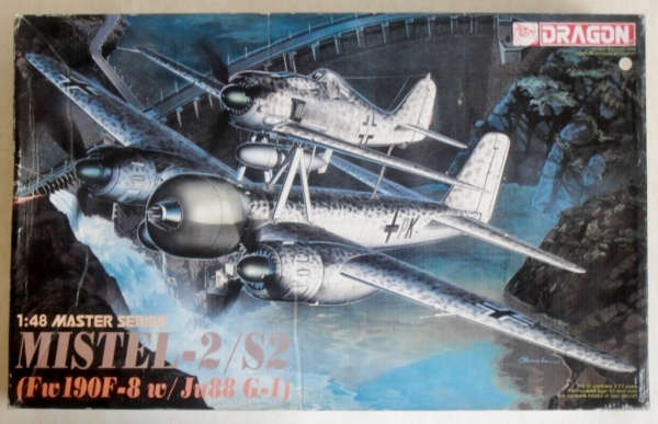 5510 MISTEL-2/S2 Fw 190F-8 w/ Ju 88G-1  UK SALE ONLY
