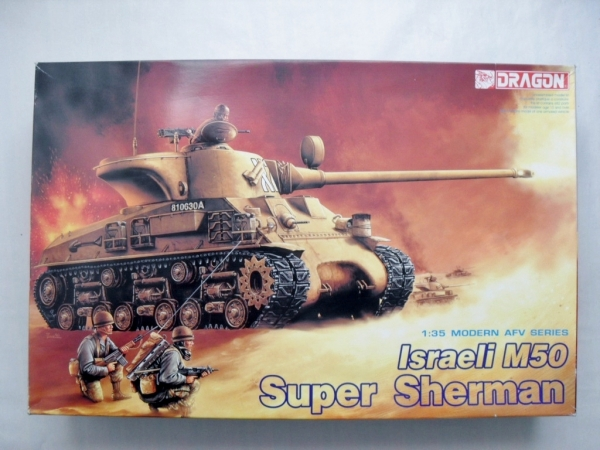 3528 ISRAELI M50 SUPER SHERMAN