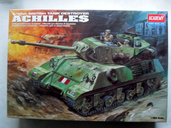 1392 M-10 A1 BRITISH TANK DESTROYER ACHILLES