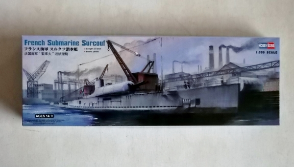 83522 FRENCH SUBMARINE SURCOUF