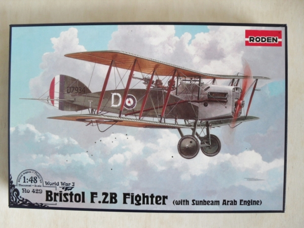 429 BRISTOL F.2b WITH SUNBEAM ARAB