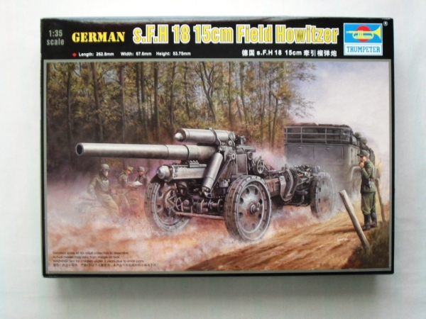 02304 s.F.H 18 15cm FIELD HOWITZER