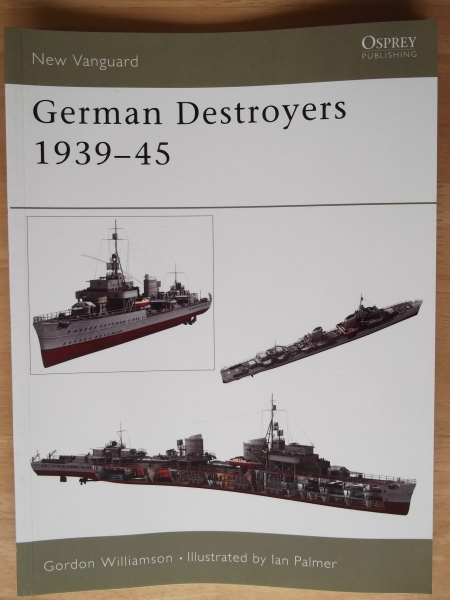 091. GERMAN DESTROYERS 1939-45