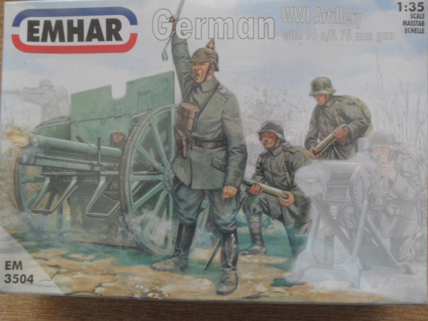 3504 WWI GERMAN ARTILLERY