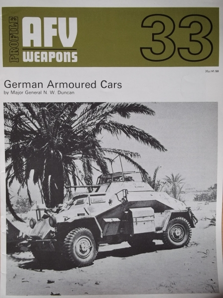 33. GERMAN ARMOURED CARS