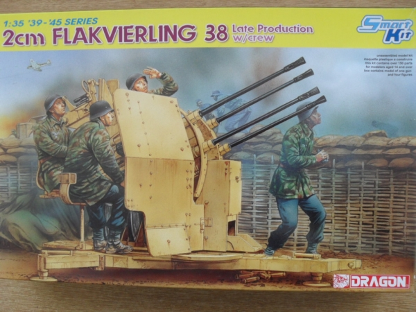 6547 2cm FLAKVIERLING 38 LATE PRODUCTION WITH CREW