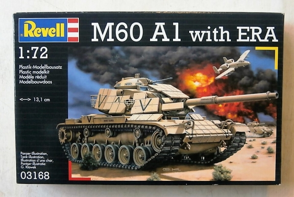 03168 M60A1 WITH ERA