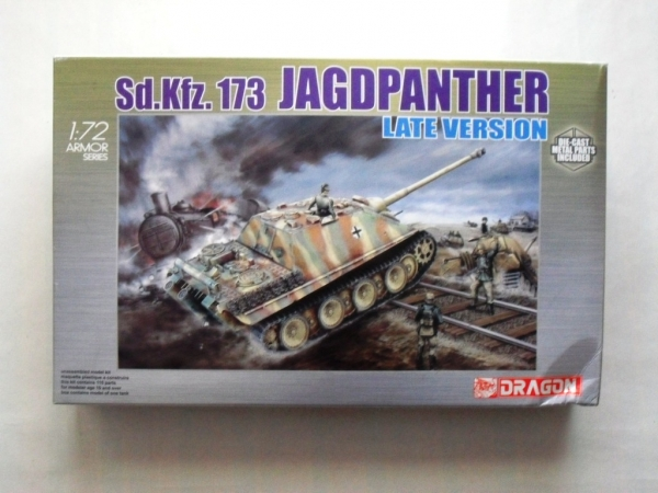 7212 Sd.Kfz 173 JAGDPANTHER LATE VERSION