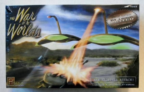 9202 THE WAR OF THE WORLDS WAR MACHINES ATTACK PLATED