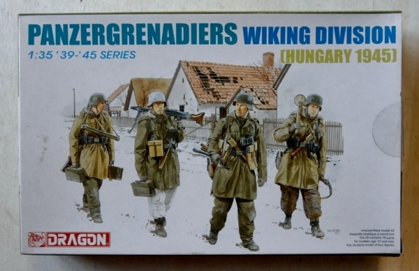 6194 PANZERGRENADIERS WIKING DIVISION HUNGARY 1945