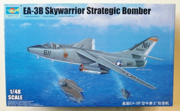 02871 EA-3B SKYWARRIOR STRATEGIC BOMBER