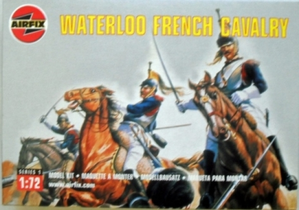 01736 WATERLOO FRENCH CAVALRY