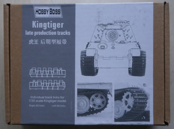 81002 KINGTIGER LATE PRODUCTION TRACKS