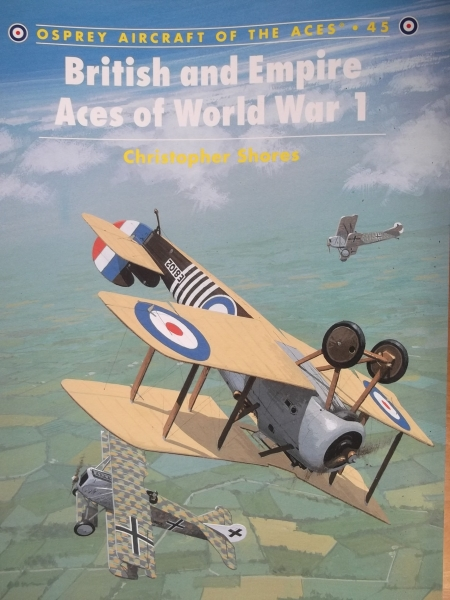 045. BRITISH   EMPIRE ACES OF WORLD WAR 1