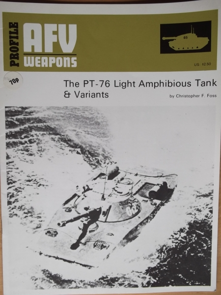 65. THE PT-76 LIGHT AMPHIBIOUS TANK   VARIANTS